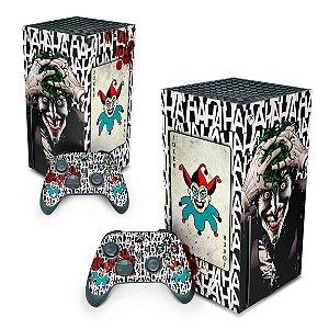 Xbox Series X Skin - Joker Coringa