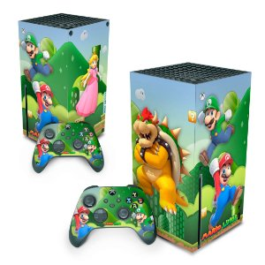 Xbox Series X Skin - Super Mario