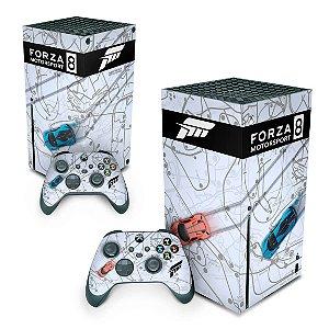 Xbox Series X Skin - Forza Motor Sport 8