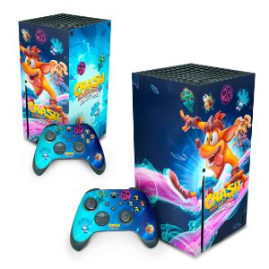 Xbox Series X Skin - Crash Bandicoot 4