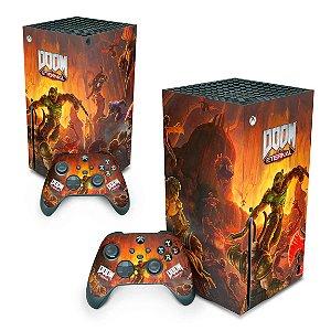 Xbox Series X Skin - Doom Eternal