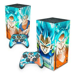 Xbox Series X Skin - Dragon Ball Super