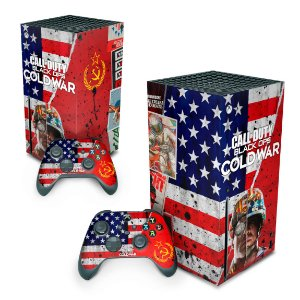 Xbox Series X Skin - Call Of Duty Cold War