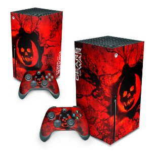 Xbox Series X Skin - Gears of War - Skull