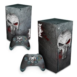 Xbox Series X Skin - The Punisher Justiceiro