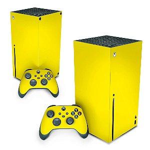 Xbox Series X Skin - Amarelo