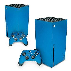 Xbox Series X Skin - Azul Claro