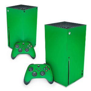Xbox Series X Skin - Verde