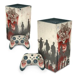 Xbox Series X Skin - The Walking dead