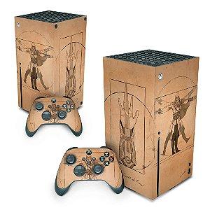 Xbox Series X Skin - Assassin'S Creed Vitruviano