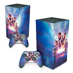 Xbox Series X Skin - Vingadores Ultimato Endgame
