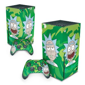 Xbox Series X Skin - Rick And Morty