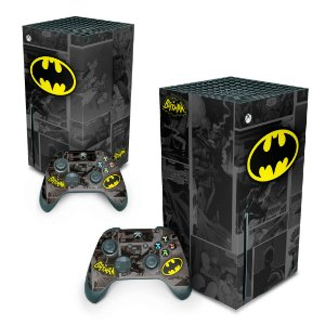 Xbox Series X Skin - Batman Comics