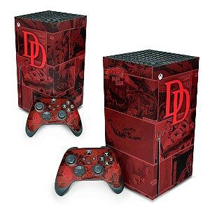 Xbox Series X Skin - Daredevil Demolidor Comics