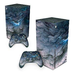 Xbox Series X Skin - Abstrato #91