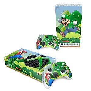 Xbox Series S Skin - Super Mario