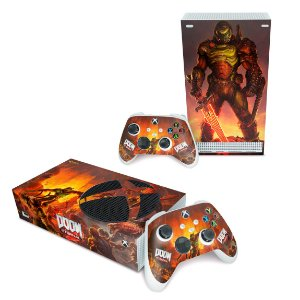 Xbox Series S Skin - Doom Eternal