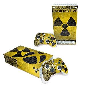 Xbox Series S Skin - Radioativo