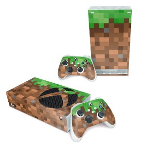 Xbox Series S Skin - Minecraft