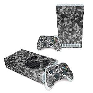 Xbox Series S Skin - Camuflado Cinza