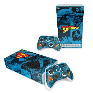 Xbox Series S Skin - Superman Comics