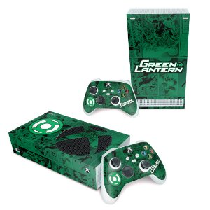 Xbox Series S Skin - Lanterna Verde Comics