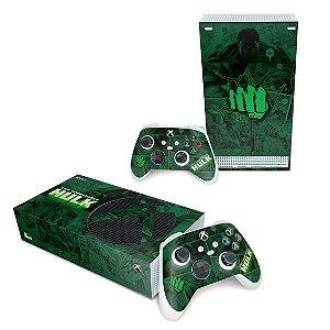 Xbox Series S Skin - Hulk Comics
