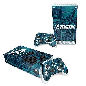 Xbox Series S Skin - Avengers Vingadores Comics