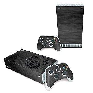 Xbox Series S Skin - Aço Escovado Preto