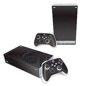 Xbox Series S Skin - Fibra de Carbono Preto