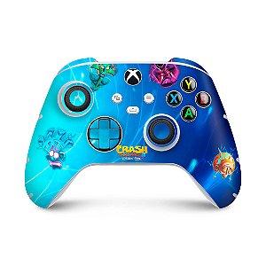 Xbox Series S X Controle Skin - Crash Bandicoot 4