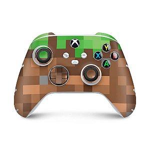Xbox Series S X Controle Skin - Minecraft