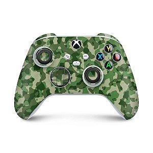 Xbox Series S X Controle Skin - Camuflado Verde