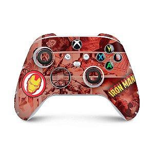 Xbox Series S X Controle Skin - Homem De Ferro Comics
