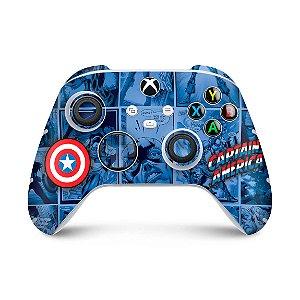 Xbox Series S X Controle Skin - Capitão América Comics