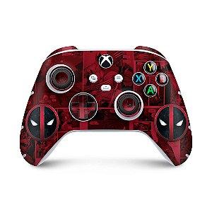 Xbox Series S X Controle Skin - Deadpool Comics