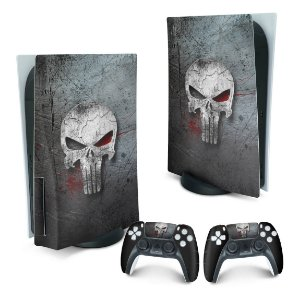 PS5 Skin - The Punisher Justiceiro