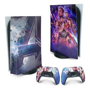 PS5 Skin - Vingadores Ultimato Endgame