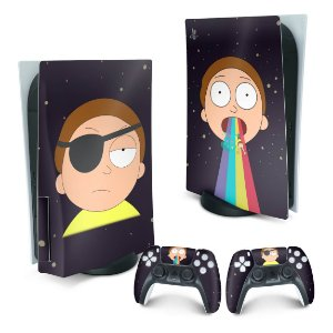 PS5 Skin - Morty Rick And Morty