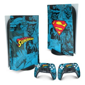 PS5 Skin - Superman Comics