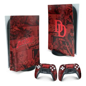 PS5 Skin - Daredevil Demolidor Comics
