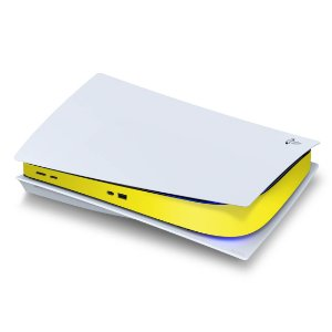 PS5 Central Skin - Amarelo
