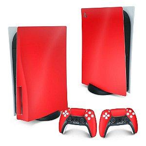 PS5 Skin - Vermelho