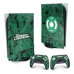 PS5 Skin - Lanterna Verde Comics