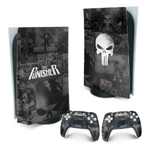 PS5 Skin - The Punisher Justiceiro Comics