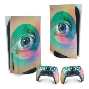 PS5 Skin - Abstrato #89