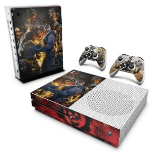 Xbox One Slim Skin - Gears of War