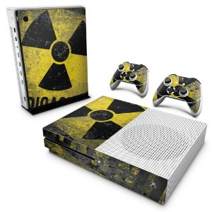 Xbox One Slim Skin - Radioativo