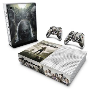 Xbox One Slim Skin - The Walking Dead