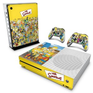Xbox One Slim Skin - The Simpsons